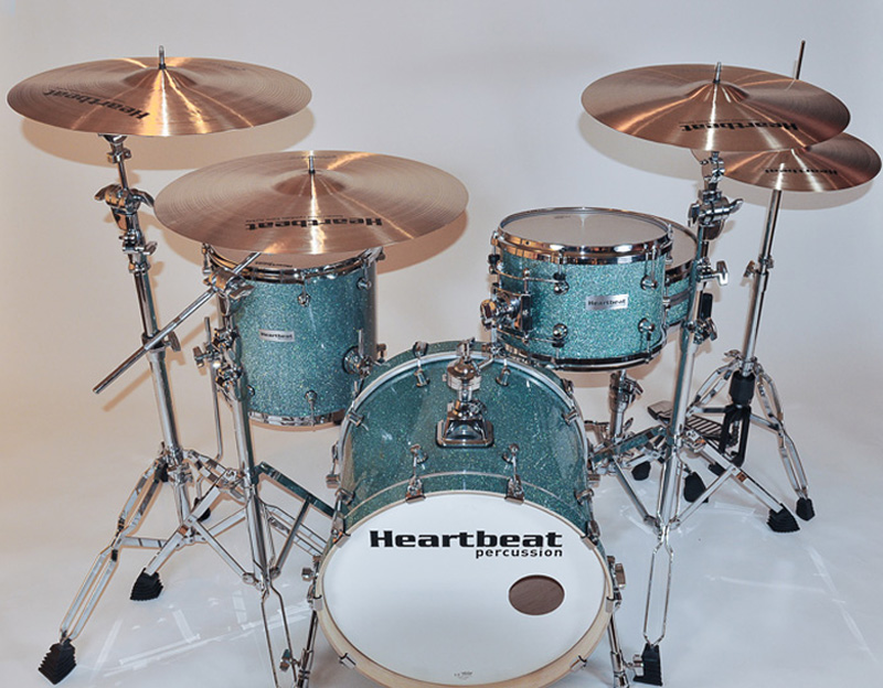 Heartbeat Drum set with Cymbals