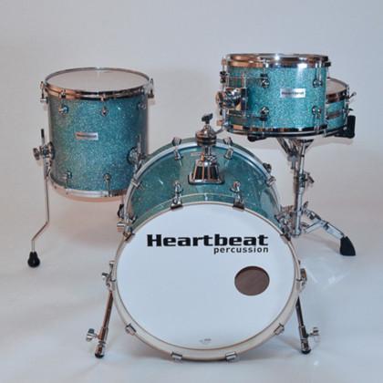 DSM Maple Drum Sets Turquoise Sparkle