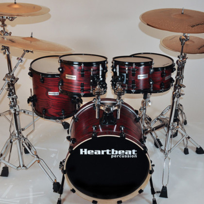 Heartbeat DSA Ash Drum Sets