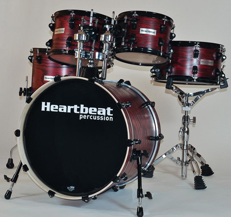 Heartbeat DSA Ash Drum Sets