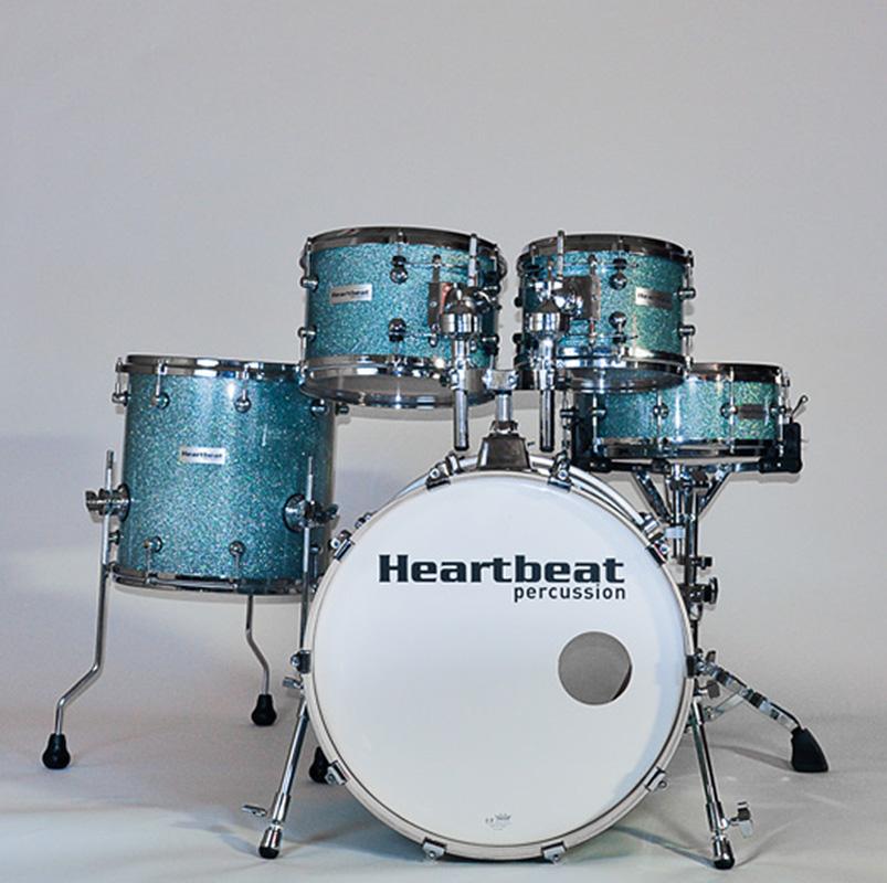 Heartbeat 5 piece drum set