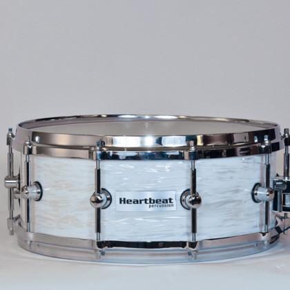 Heartbeat DSM Maple Drum Sets Vintage White