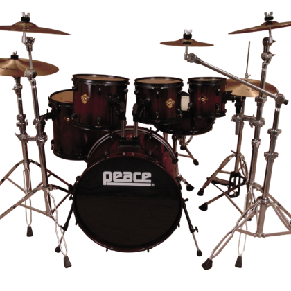 Onyx Custom Maple-Mahogany Drum Set