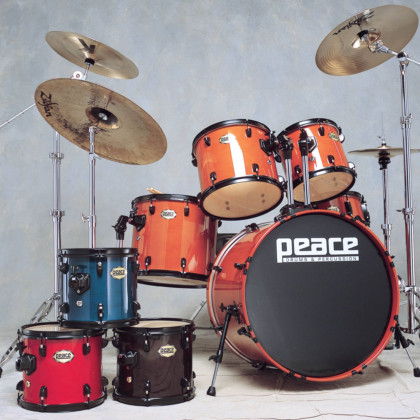 Onyx Maple-Mahogany Drum Set