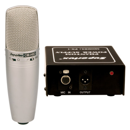 Superlux CMH8D Tube Condenser Microphone