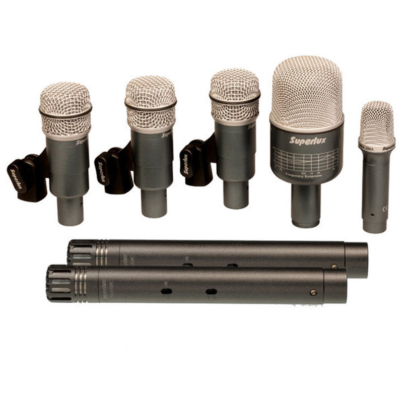 Superlux DRKB5C2MKII Microphone set