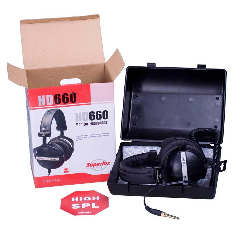 Superlux HD660 Headphones open box