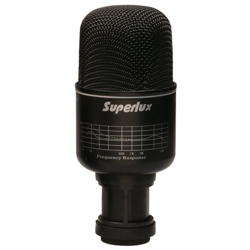 Superlux PRA218B Kick Drum Microphone - Heartbeat Worship