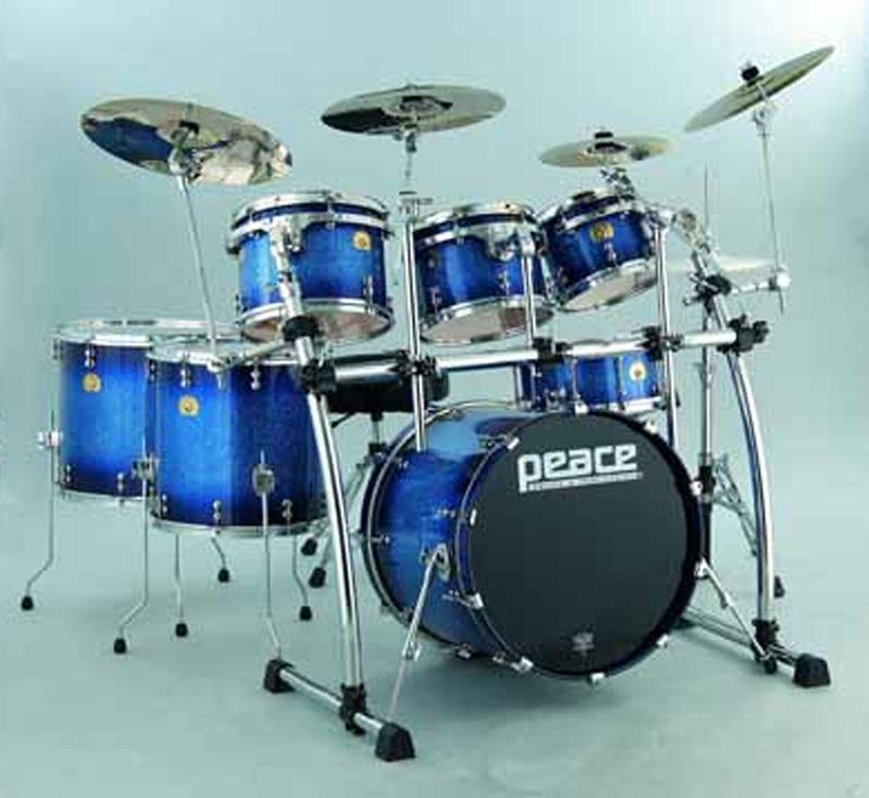 Paragon Midnight Burst Maple Drums