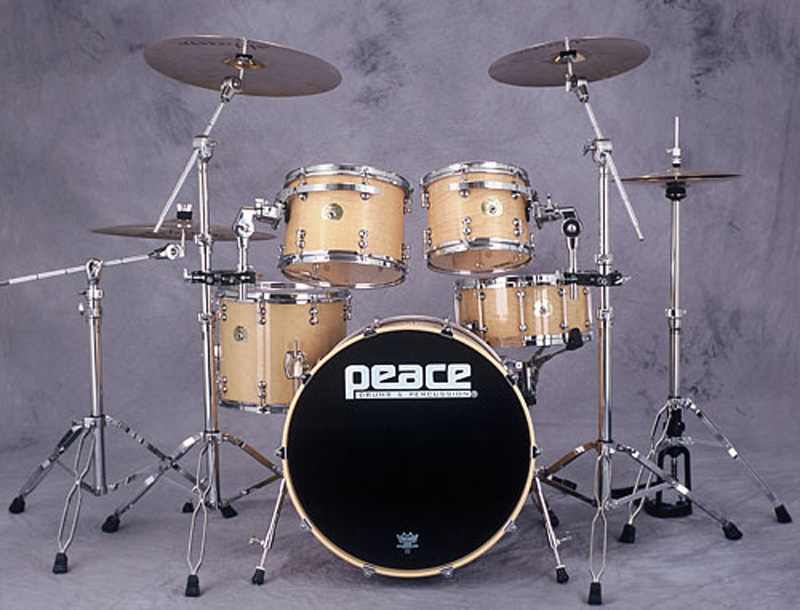 paragon maple drum sets heartbeat worship. Black Bedroom Furniture Sets. Home Design Ideas