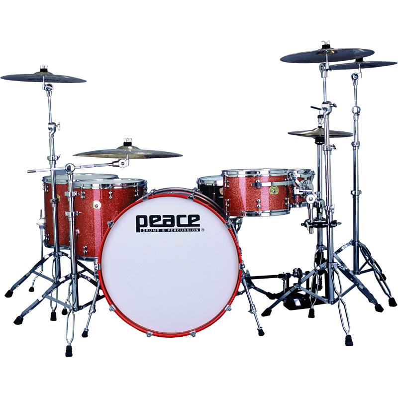 Paragon Tangerine Maple Drums