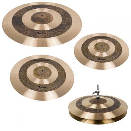 Heartbeat Studio Series Cymbal Set 15/18/20/22