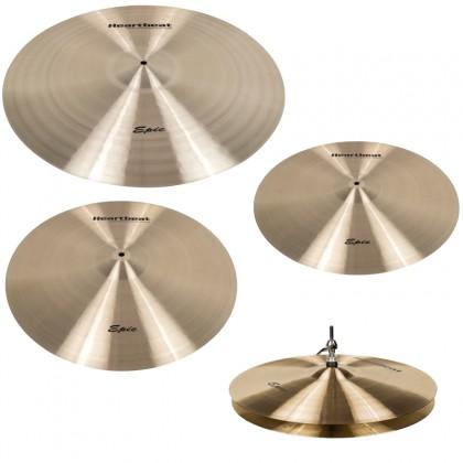 Heartbeat Epic Series Cymbal Set 15/18/20/22