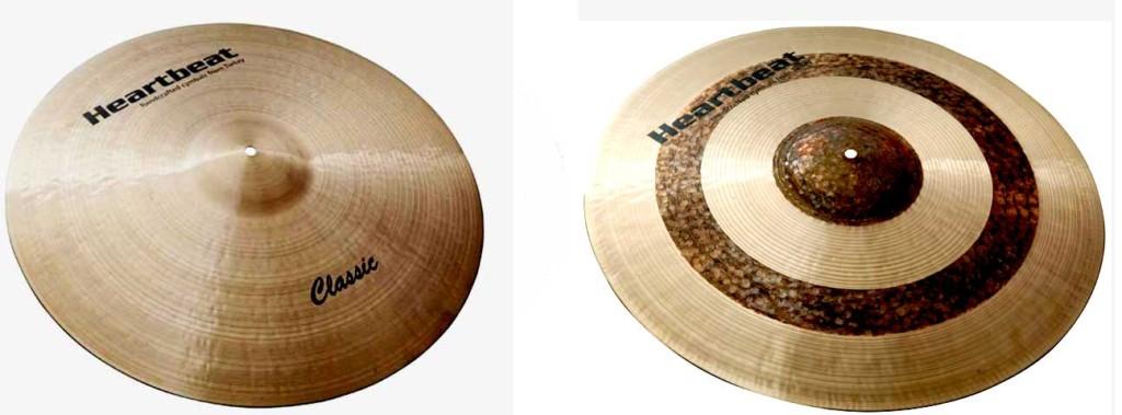 Heartbeat Classic Studio Cymbals