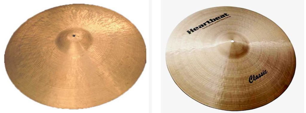 Zildjian Turkish K and Heartbeat Classic Rides