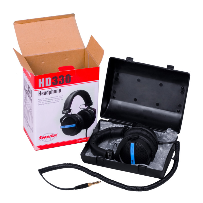 HD330 open box