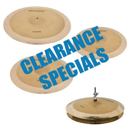 Clearance Cymbals